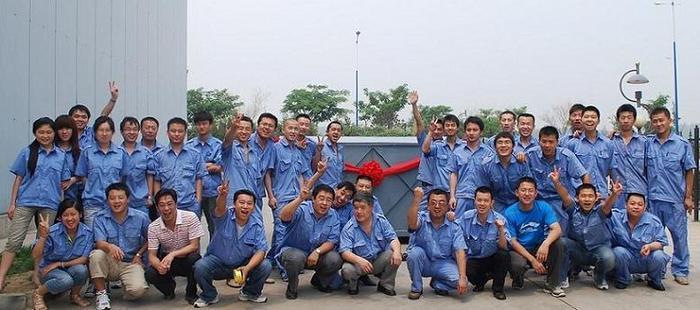 2011年第100台CTP制版机下线合影留念.JPG